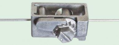 Mowein-Drahtspanner stärkere Ausführung aus Zinkdruckguss, rostfrei  100 St./Krt.