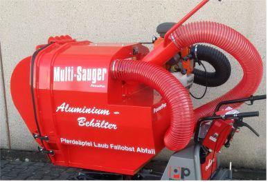 Multi-Sauger Typ MCS520 - Volumen 520 ltr.