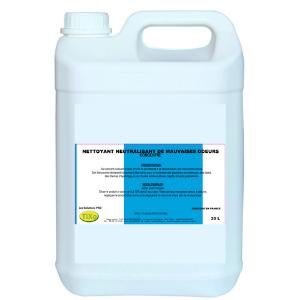 Nettoyant neutralisant mauvaises odeurs - 20 litres