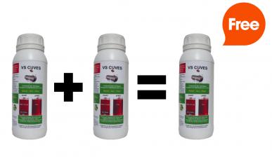 Nettoyant pour cuve à Fioul / Gasoil / GNR VS CUVE - Dose 500 mL (Pour 2 VS CUVE achetés, le 3ème est offert)