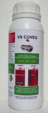 Nettoyant pour cuve de fioul - gasoil - GNR, traite de 1000 à 2000 litres, dose 500 ml