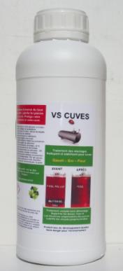 Nettoyant pour cuve de fioul - gasoil - GNR, traite de 2000 à 5000 litres, dose 1L