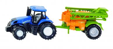 Tracteur New Holland avec épandeur Siku