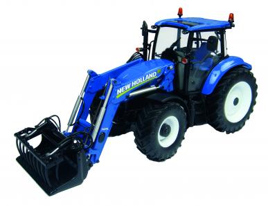 Tracteur New Holland T5.115 avec chargeur 1:32