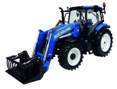 Tracteur New Holland T6.145 avec fourche 740TL 1:32