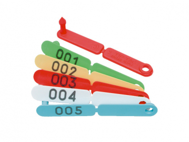 Boucle tip tag 101 à 200
