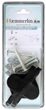 Paire de coussinets polyamide  diam 21 mm