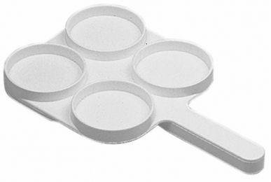 4-Becher-Palette für Kuh-Mastitis-Test