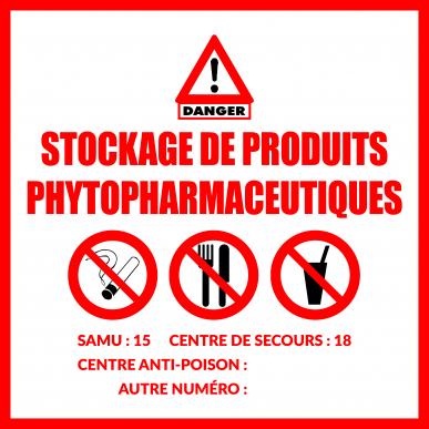 "Panneau PVC ""Les Interdits"""