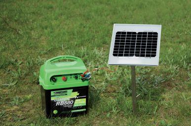 Panneau solaire 10 W avec pied