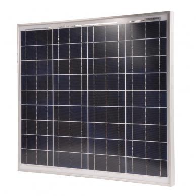 Panneau solaire 50W, avec régulateur de 10A
