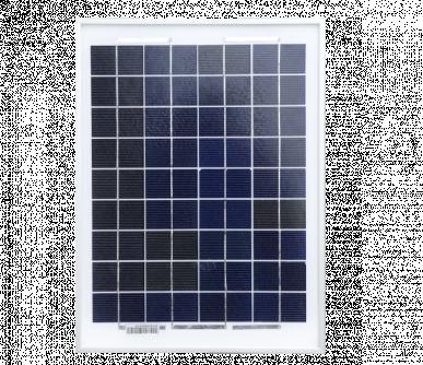 Panneau solaire monocristallin 10Watt avec support de fixation pour farmer AN1000 (réf. 10855)