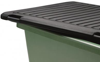 PE-Deckel für Rechteckbehälter 100 L aus GFK