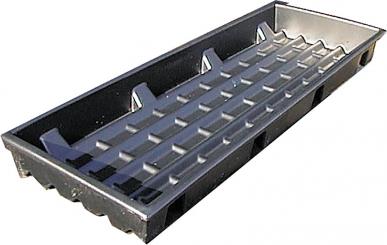 Pédiluve, plastique, pour la contentiondes ovins, L= 1,54 m