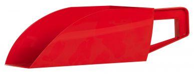 Pelle en plastique rouge