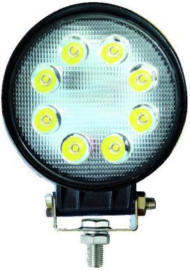 PHARE LED ROND 12/24V 24W 1000LM