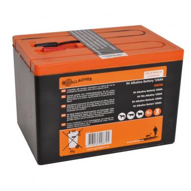 Pile 9V Powerpack 120Ah (160x110x115mm)