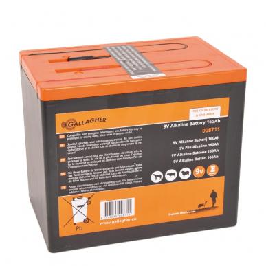 Pile 9V Powerpack 160Ah (190x125x160mm)