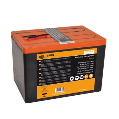 Pile 9V Powerpack 210Ah (190x125x160mm)