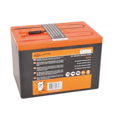 Powerpack Alkaline Batterie 9V/55Ah (160x110x115mm)