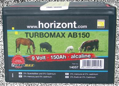 """Pile alcaline, 9V / 150Ah, boîtier petit format, """"TURBOMAX AB140"""", à l'unité"""