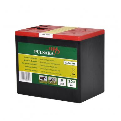Pile alcaline optimale 9V/200Ah Grande
