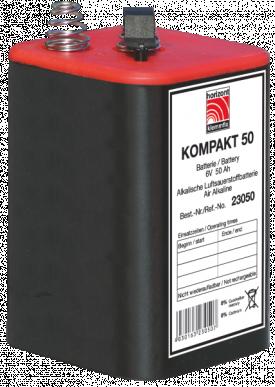 Blockbatterie 6V/50Ah