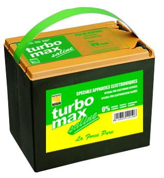 Pile saline TURBOMAX SB130 9V / 130Ah, boîtier grand format