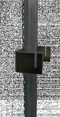 Piquet d'ancrage, pour enrouleur Super (15340), avec chaîne, longueur de 117cm
