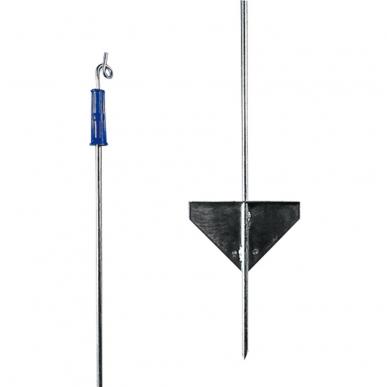 Piquet de fer 1,10m avec isolateur supérieur (10)
