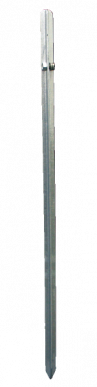 Piquet de terre en fer longueur de 100cm