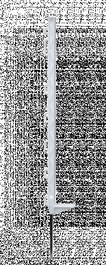 Piquet plastique standard 75 cm 7 œillets