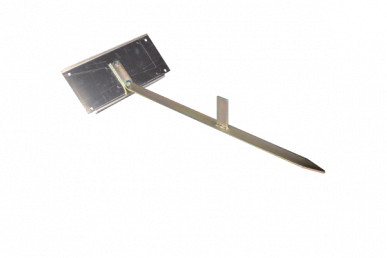 Piquet pour panneau solaire (incluant la plaque de fixation)