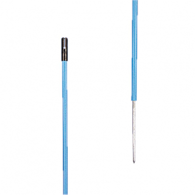 Piquet PVC blue 0,85m + 0,20m pointe (10)