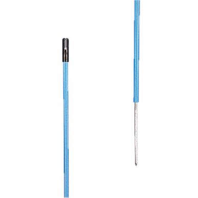 Piquet PVC blue 1,35m + 0,20m pointe (10)