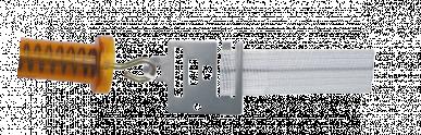 Plaque de jonction, pour ruban pour poignées de portail