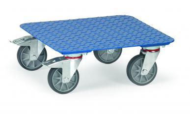 Plateaux roulants  Charge 400kg - Tôle antidérapante