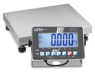 Balance plate-forme avec afficheur en acier inoxydable IXS 30-60kg