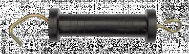 """Poignée avec crochet, noir, double isolation, ressort en compression, """"TURBOMAX G"""""""
