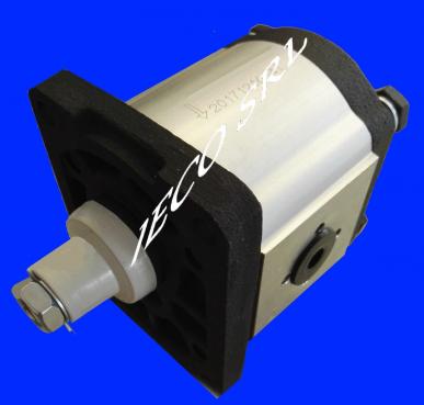 Pompe hydraulique à engrenages - Groupe 2 - 12 cm³ CXX C25X A22X A25X - 14 cm³ Dx - Droite