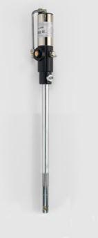 Pompa pneumatica per grasso per fusti da 16 Kg rapporto 50:1 (lungh. pescante 335 mm)
