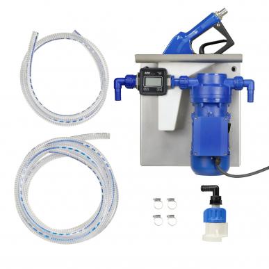 Set pompe AdBlue / urée EMP 35 L/min Pistolet automatique - Montage IBC - Compteur Digital