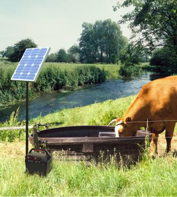 Pompe de prairie seule pour panneau solaire 60 w