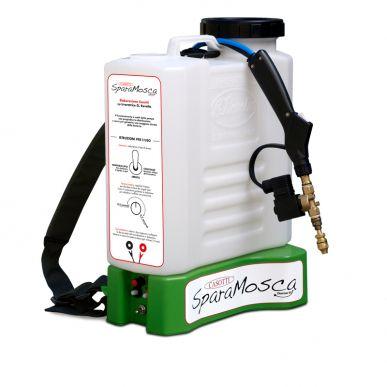 Pompe électrique à dos - Distribution de microdoses Mod Sparamosca