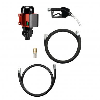 Set pompe gasoil / fioul ROTAxx 60 L/min -Fixation fermeture bonde filetée