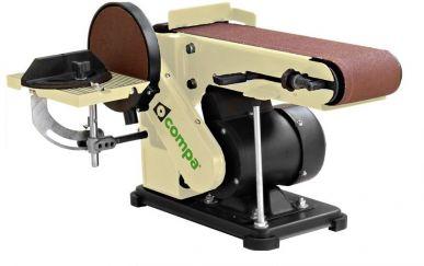 Levigatrice a nastro 100x914 mm con disco