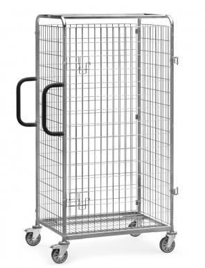 Porte battante  pour chariot préparateur de commandes