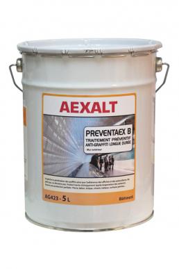 Traitement préventif anti graffiti PREVENTAEX B Longue durée - Bidon 5 L