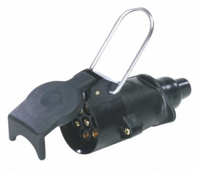12 V 7-poliger PVC-Flugstecker