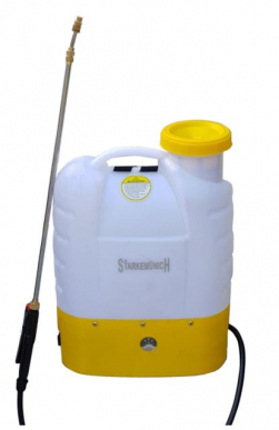 Pulvérisateur, Arroseur, Pompe de pulvérisation avec batterie au lithium rechargeable 12V 16lt. épaule/sac à dos - Mod. Litium